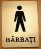 Placuta Toaleta Barbati Auriu...