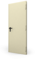 Usa metalica DIERRE T92 Standard Otel 900 2050 1 canat RAL 1013 Reversibila