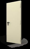 Usa metalica DIERRE T92 Standard Otel 1000 2050 1 canat RAL 1013 Reversibila