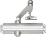 Amortizor hidraulic usi antifoc brat standard argintiu lucios