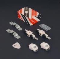 Set accesorii usa MDF glisanta sina (2ml)+set carucioare+suport prindere