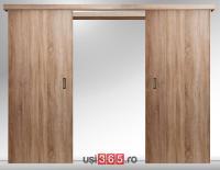Usa glisanta dubla aplicata pe perete Basic 3.1 BARDOLINO 2 canaturi